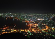 Night View at Hakodate